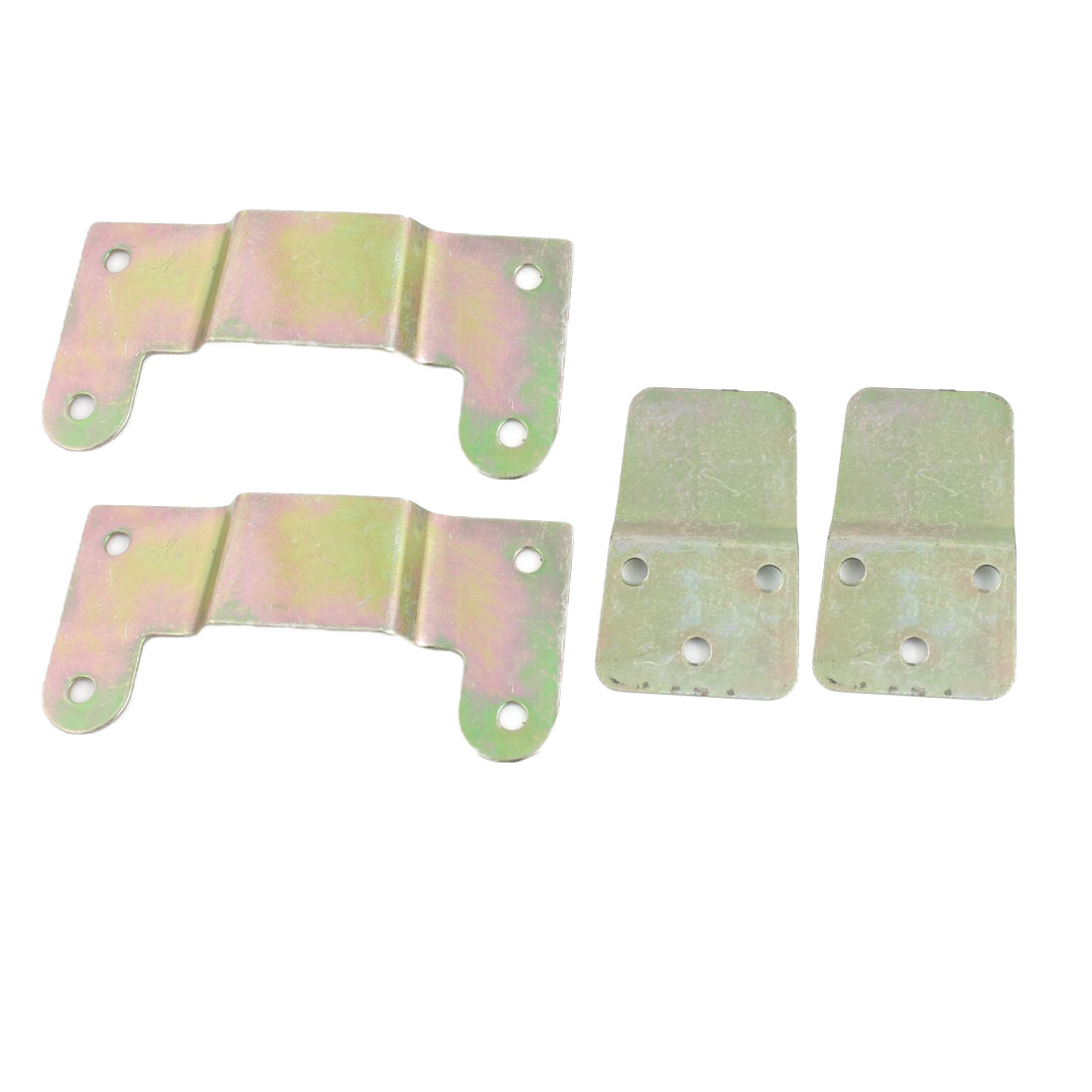 2 Pcs Replacement Brass Wall Fan Mounting Bracket Hanger Set