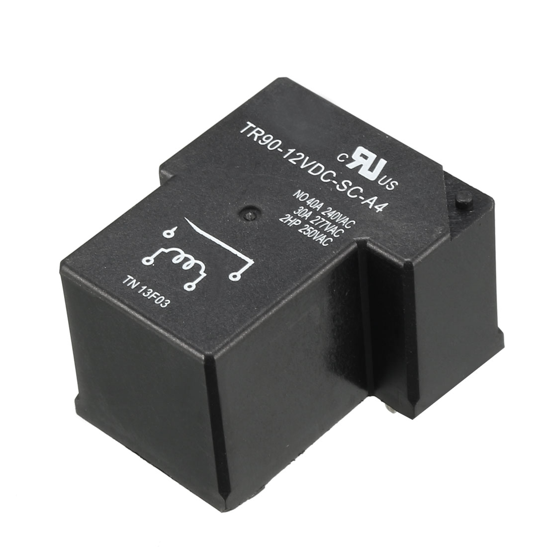 DC 12V Coil 4 Pins Terminal 1NO PCB Mount Electromagnetic Power Relays TR90-12VDC-SC-A4