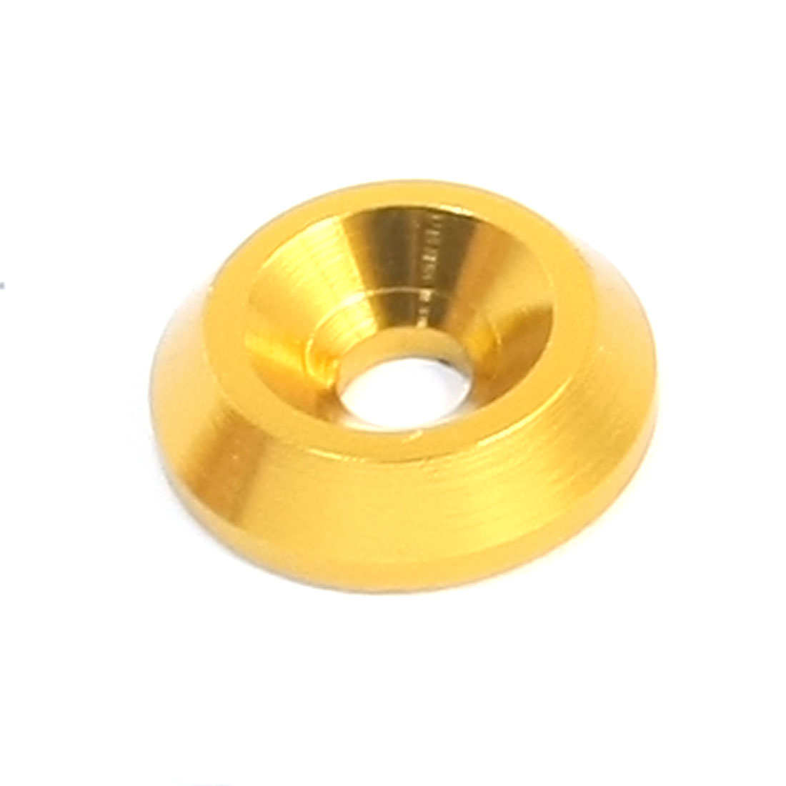 3mm x 12mm x 3mm Gold Tone Aluminium Alloy RC Wheel Spacer Washer Adaptor