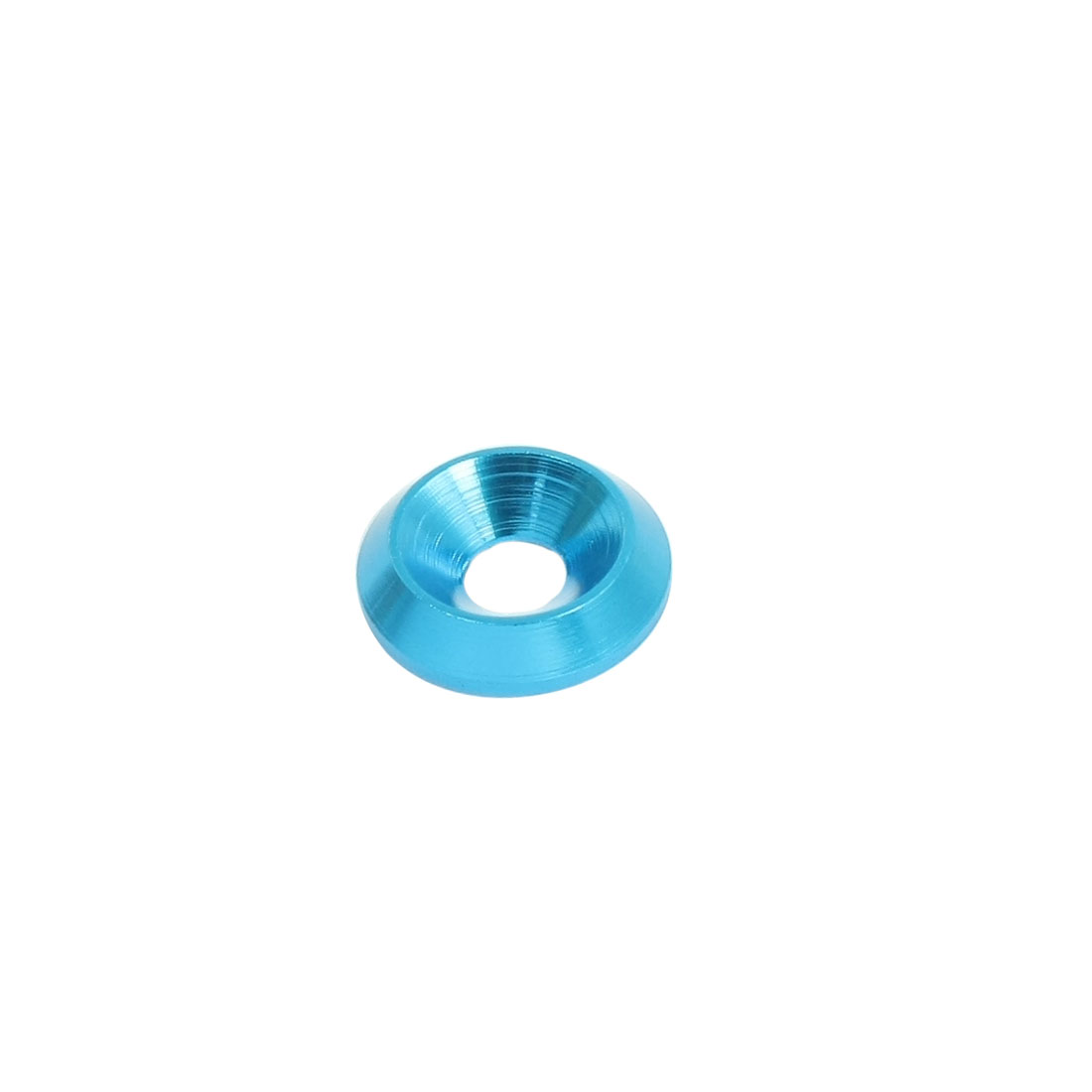 5mm x 16mm x 3.5mm Blue Aluminium Alloy Wheel Spacer Washer Adaptor for RC Model