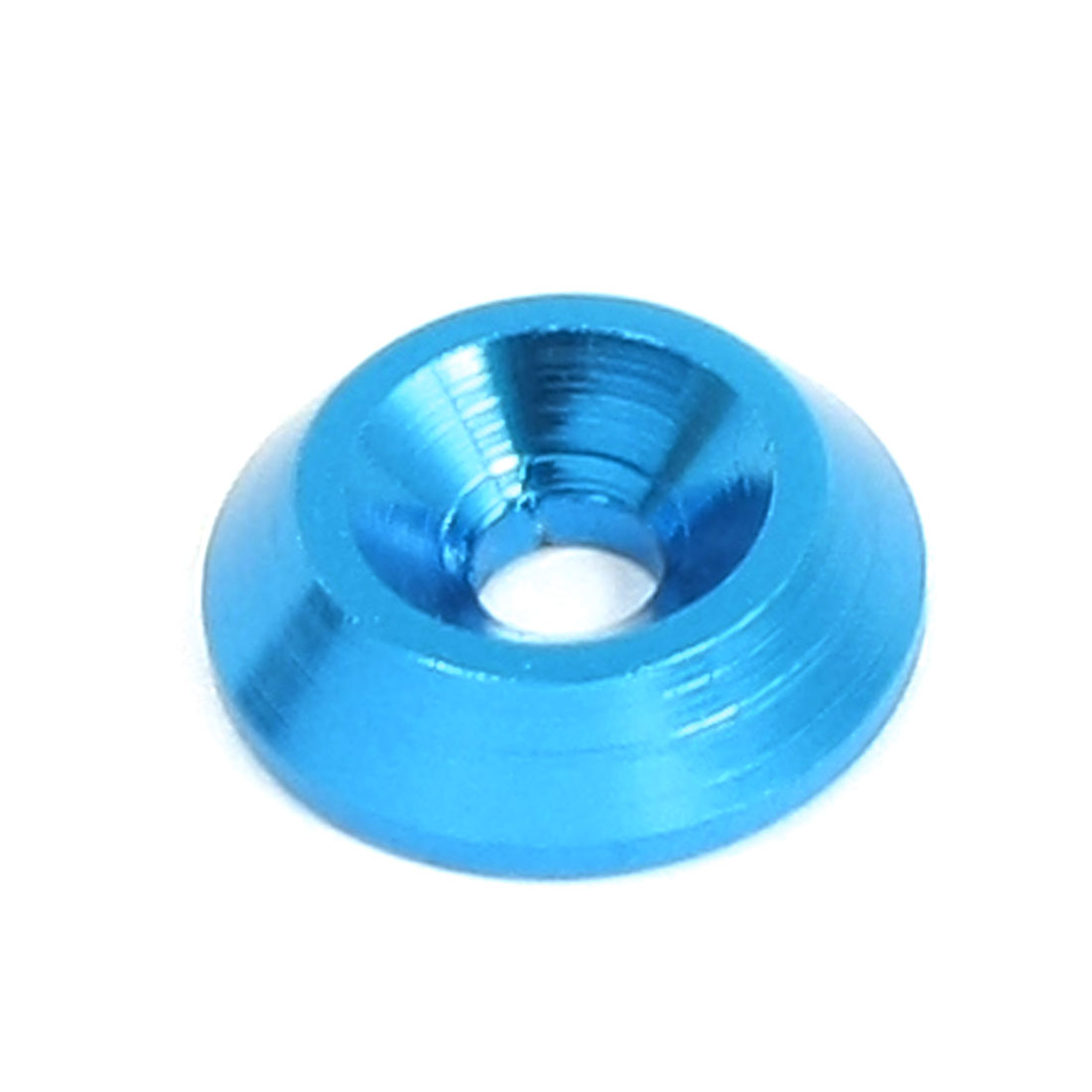 RC Model Blue Aluminium Alloy Wheel Spacer Washer Adaptor 3mm x 12mm x 3mm Replacement