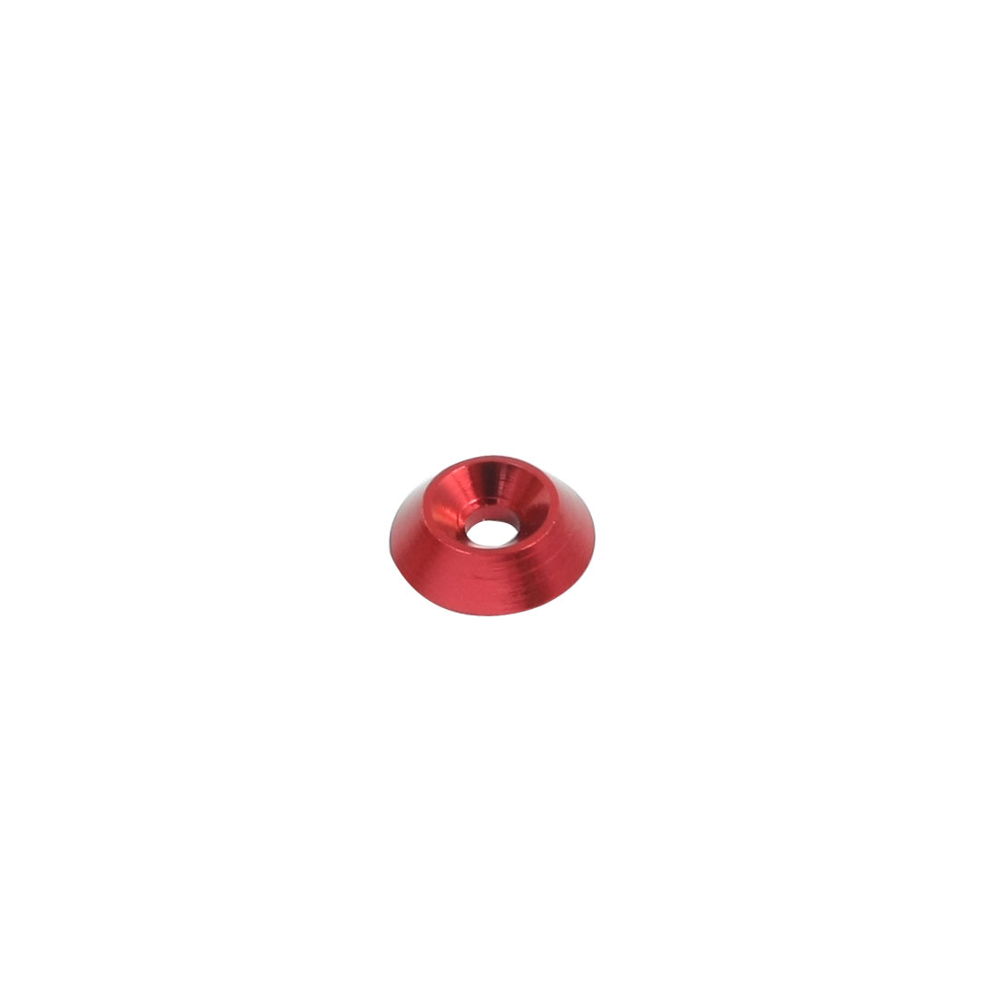3mm x 12mm x 3mm Red Aluminium Alloy Countersink RC Washer Spacer Adaptor