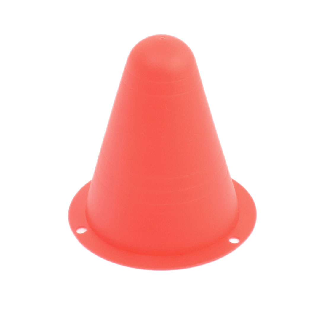 On Road Racing Competition Track Practice Conical Red Plastic Pile Roadblock 80mm x 80mm for RC Model Car Racer
