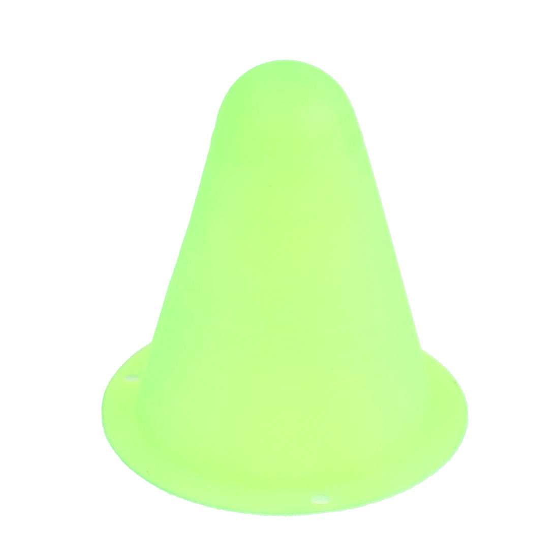Conical Green Plastic Racing Competition Practice Pile Roadblock 80mm x 80mm for RC On Road Car