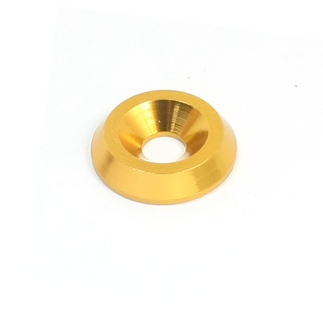 Replacement Gold Tone Aluminium Alloy RC Model Wheel Spacer Washer Adaptor 4mm x 14mm x 3mm