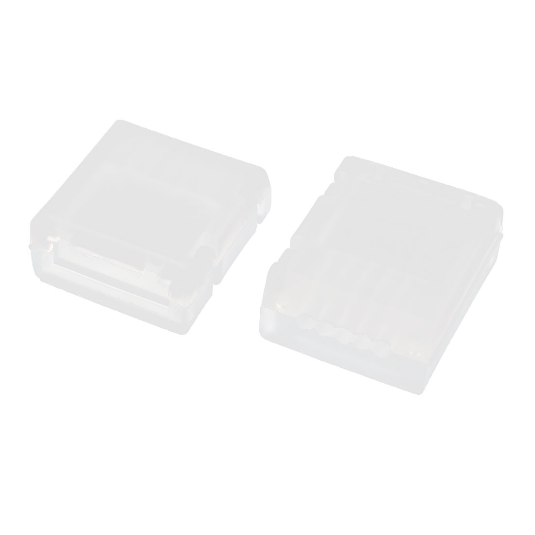 2Pcs 14.8V 4S RC Lipo Battery White Plastic Balance Charge Protector Guard AB Clip Buckle Button