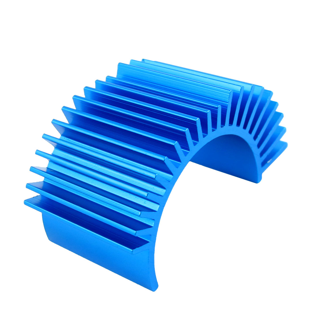 Blue Aluminum Heatsink Heat Dissipation Diffuse Cooling Fin Replacement for 540 550 3650 RC Motor