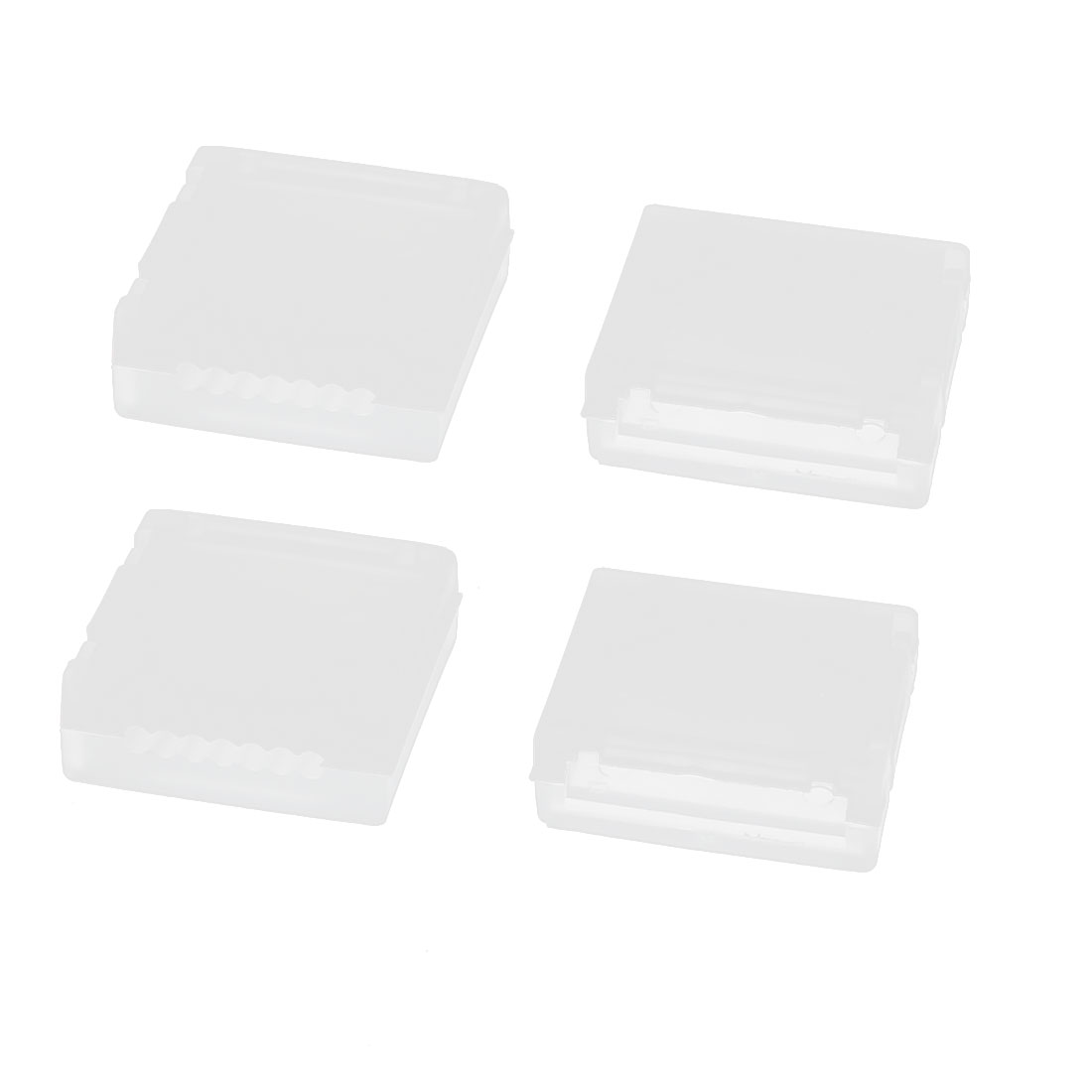 4 Pcs 22.2V 6S RC Lipo Battery White Plastic Balance Charge Protector AB Clip Buckle Button