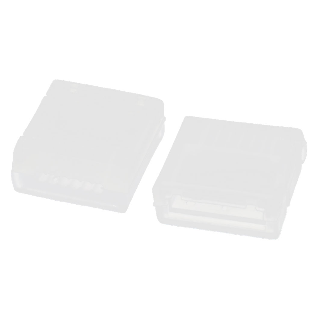 2Pcs RC 18.5V 5S RC Lipo Battery Balance Charge Plug White Plastic AB Clip Buckle Protector Cover Guard