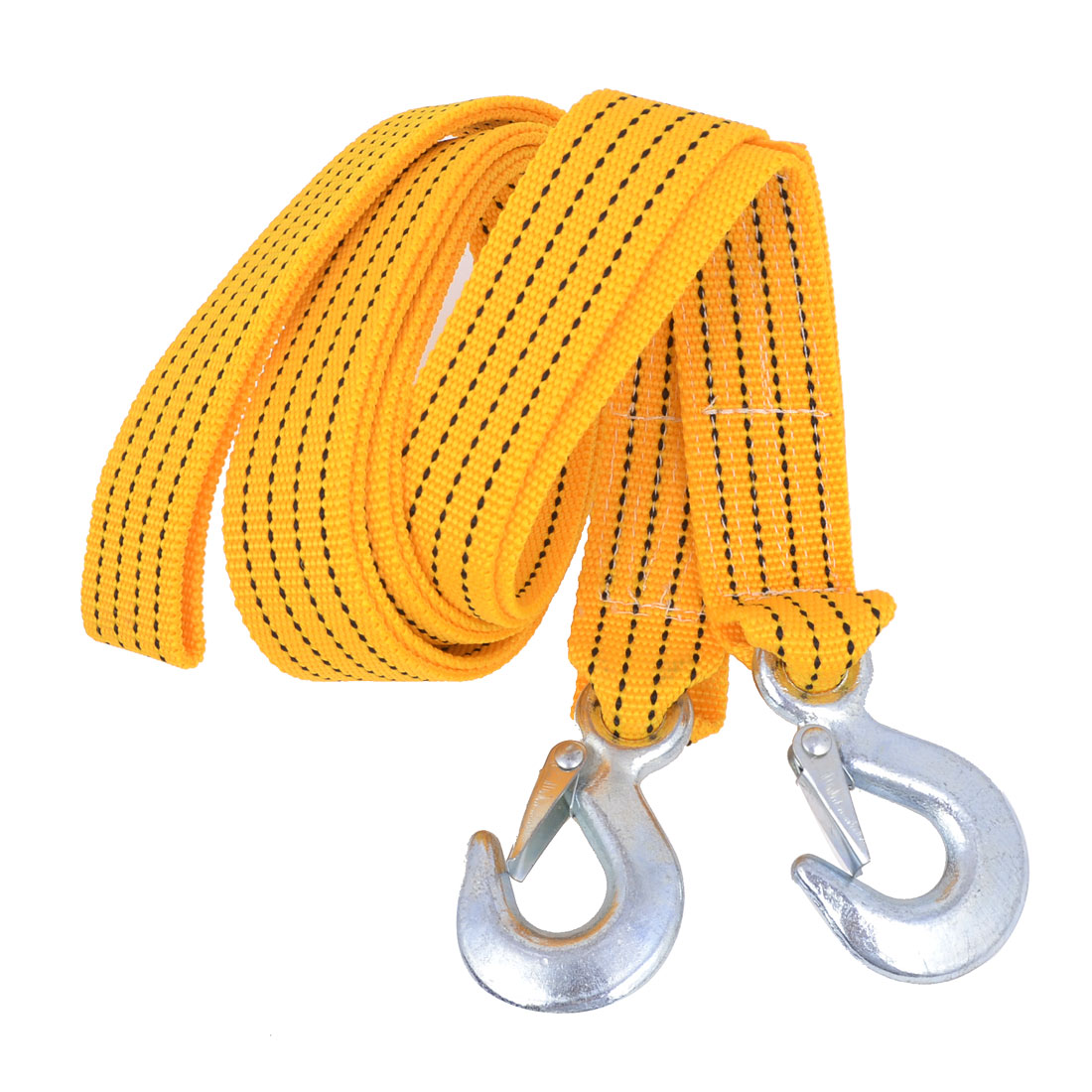 3.5 Meters Long Car Truck Breakdown Recovery Tow Strap Yellow