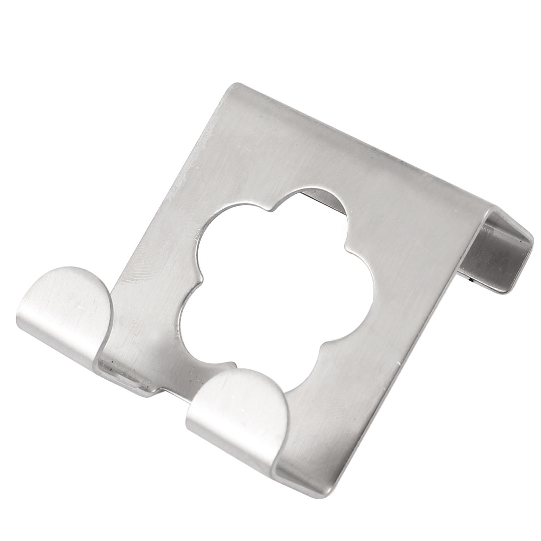 Stainless Steel Hollowed Over Top Edge Wardrobe Door Hook Hanger