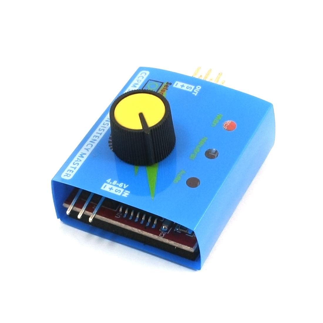 4.8-6V 3 CH Multi ESC Servo Tester CCPM Master Checker Speed Controller