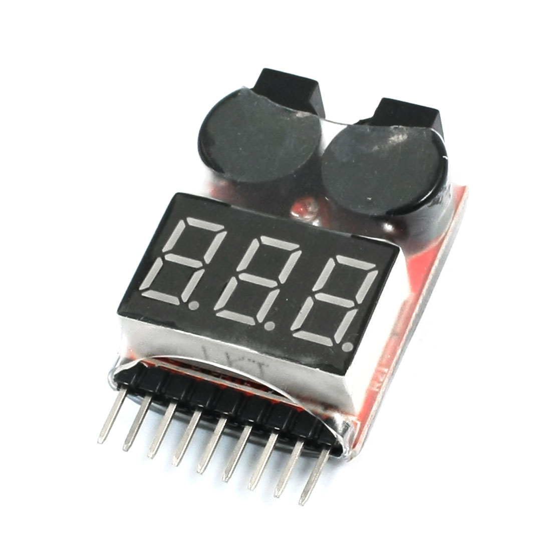 1S-8S Li-Po Battery Voltage Indicator Checker Tester w Buzzer Alarm