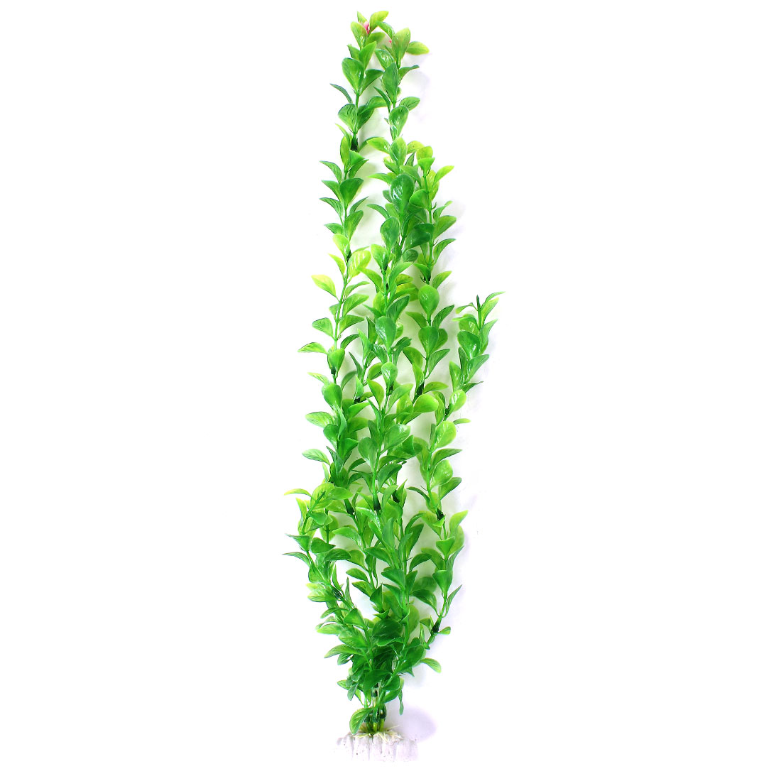 "Green Plastic Manmade Water Plants Decor 20.1"" High for Aquarium Fish Tank"