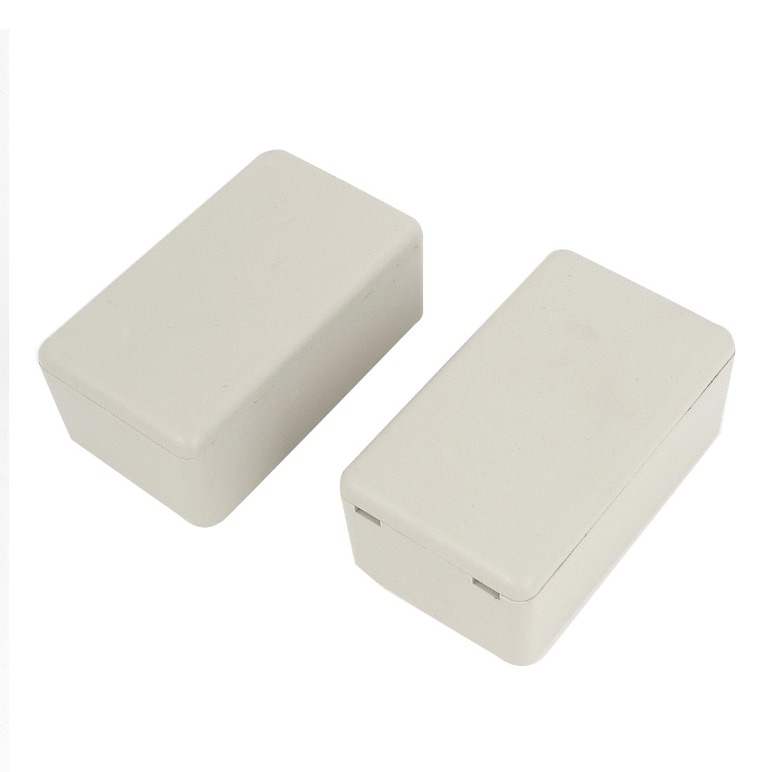 2 Pcs Sealed Plastic Enclosure Electronic Switch Junction Box Case 61 x 36 x 26mm