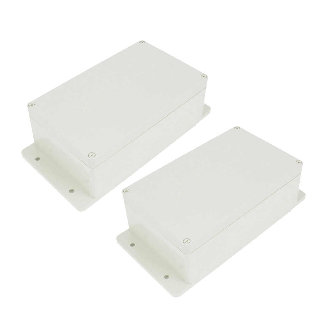 2 Pcs Sealed Plastic Enclosure Electronic Switch Junction Box Case 199 x 119 x 74mm