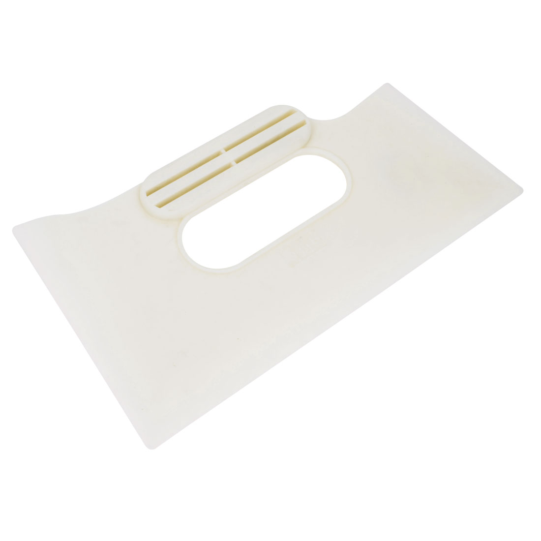 White Plastic Grip Car Window Sun Visor Tint Water Bubble Cleaner Scraper