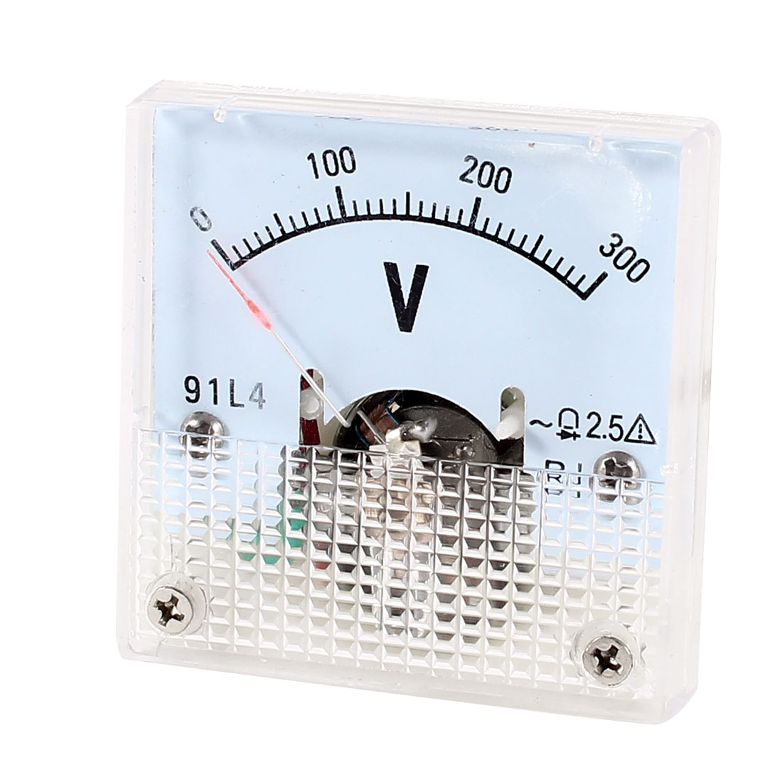 Square Measurement Tool Analog Panel Voltmeter AC 0-300V Measuring Range