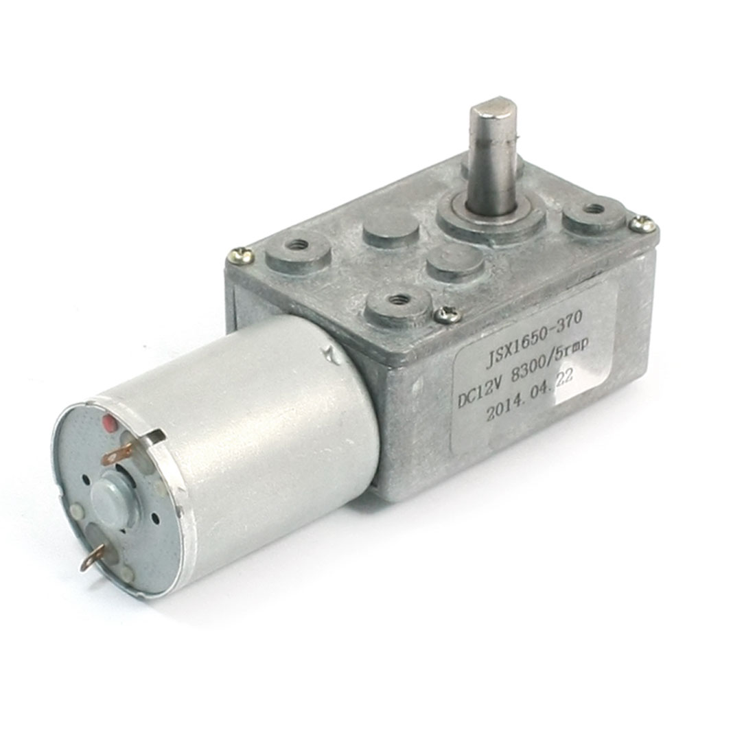 DC12V 8300RPM 5RPM Output 4.5mm Dia Shaft High Torque Reducer Gear Motor