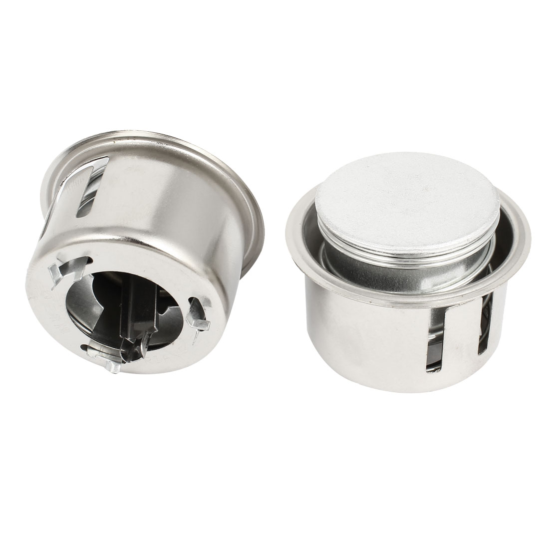 Kitchenware Repairing Stainless Steel Electric Rice Cooker Central Controller Silver Tone 2 Pcs