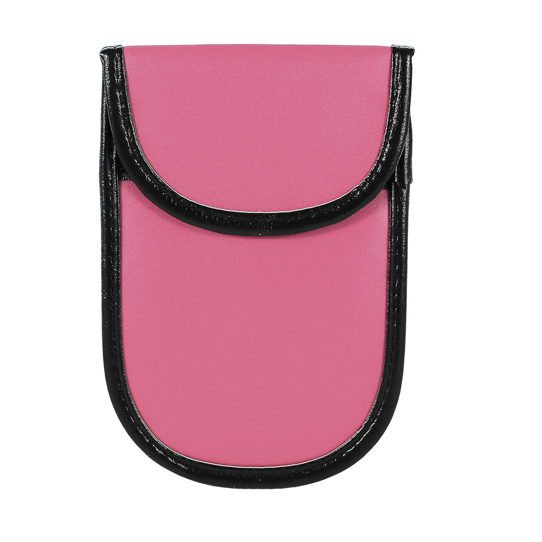 Pink Faux Leather Cell Phone Anti-static Pouch Case Bag