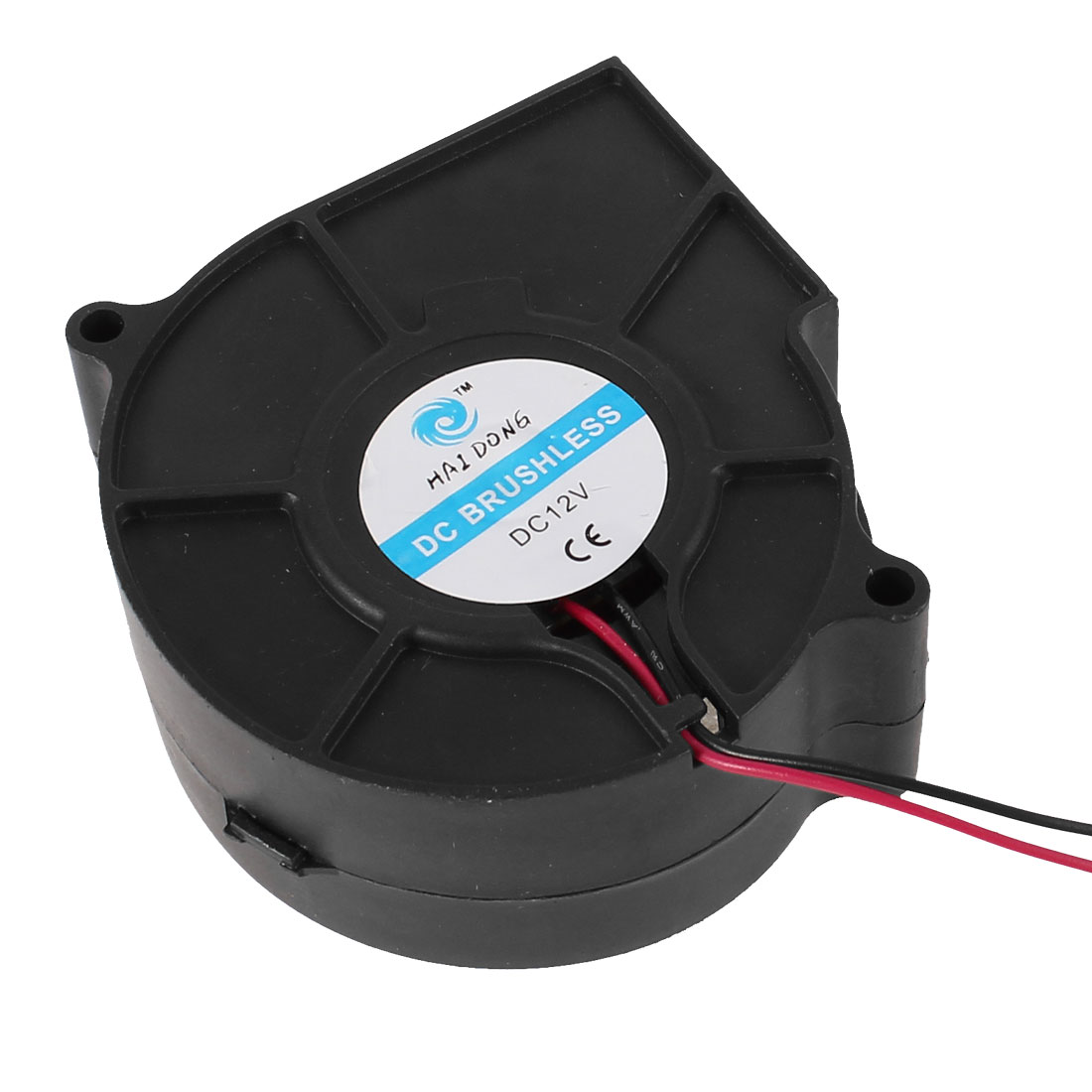 75mm x 30mm DC 12V 2 Pole 3000RPM Brushless Blower Cooling Fan