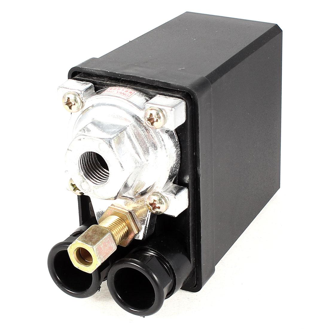 Air Compressor Pressure Switch Control Valve AC 220V 20A 175PSI 1 Port