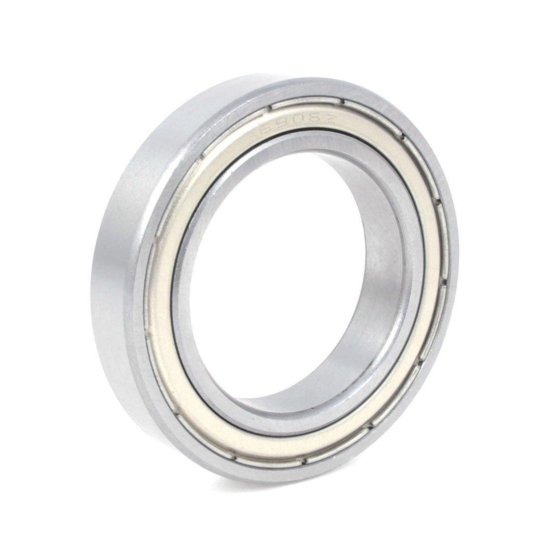 6906-Z Silver Tone Shielded Deep Groove Ball Bearings 30mm x 47mm x 9mm