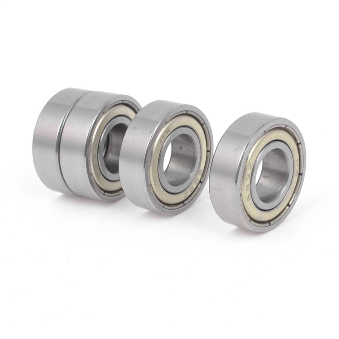 4 Pieces 699Z 9mm x 20mm x 6mm One Row Sealed Deep Groove Ball Bearing