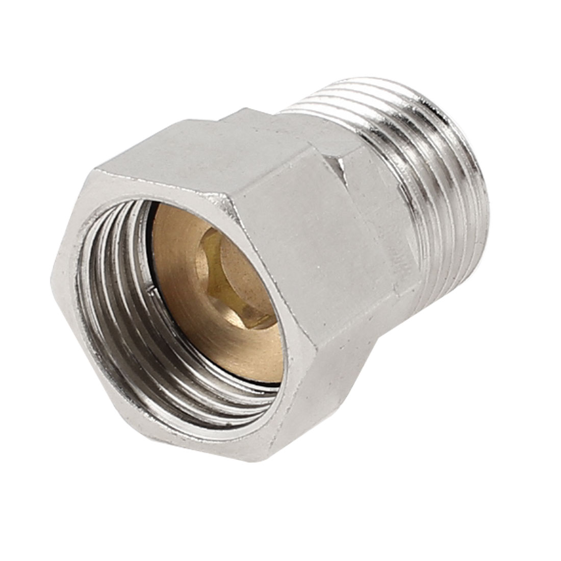 Pipe Reducer 1/2PT Male to Female Hex Bushing Hose Joint Connector