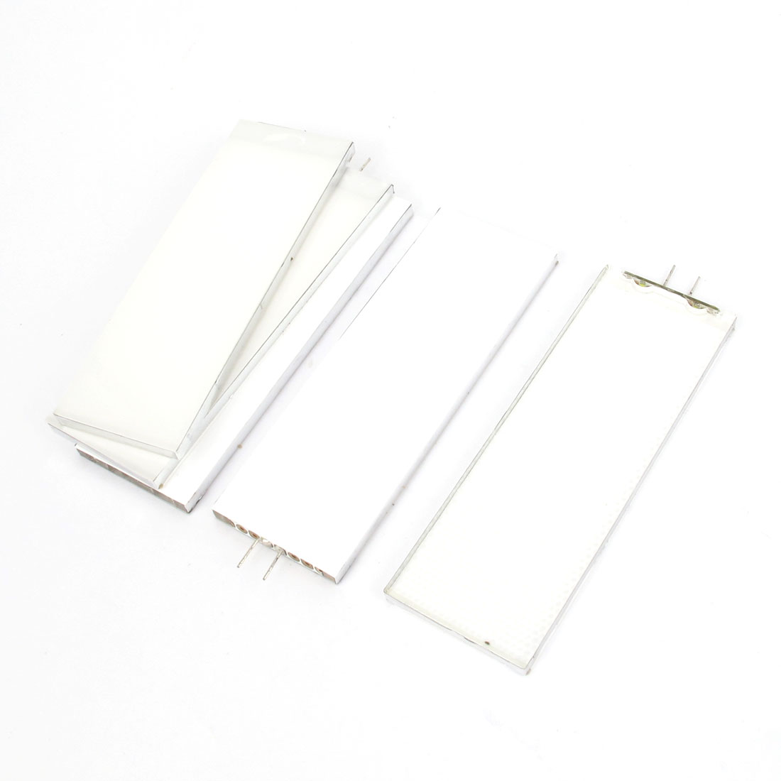 5 Pieces DC 3V Bottom White Rectangle Led Backlight Panel for Lcd Display