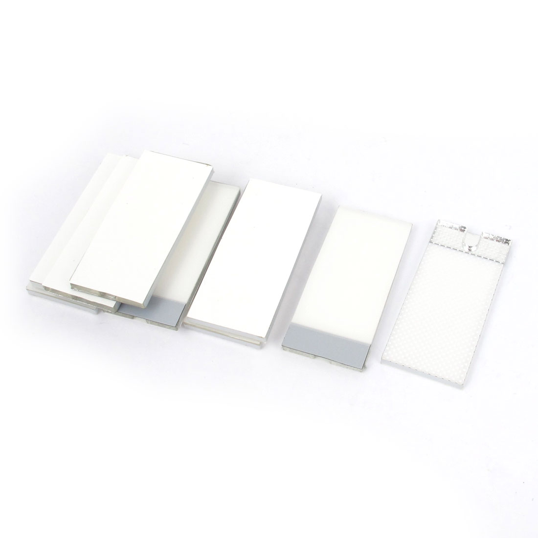 10 Pcs 40mm x 18mm x 2mm Bottom Rectangle LED Backlight Panel for Lcd Display