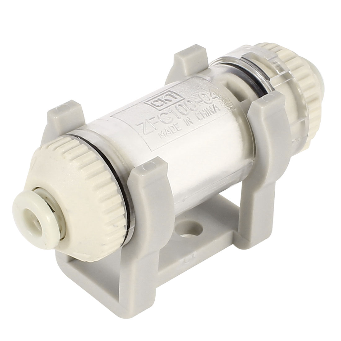 ZFC100-04-B 4mm OD Tube Push in Quick Connector In Line Vacuum Air Suction Filter