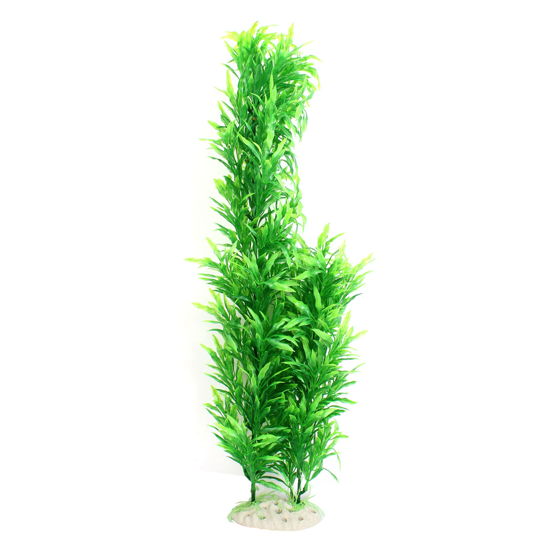 "Fish Tank Decor Green Landscape Emulational Aquatic Grass Plant 21"" High"