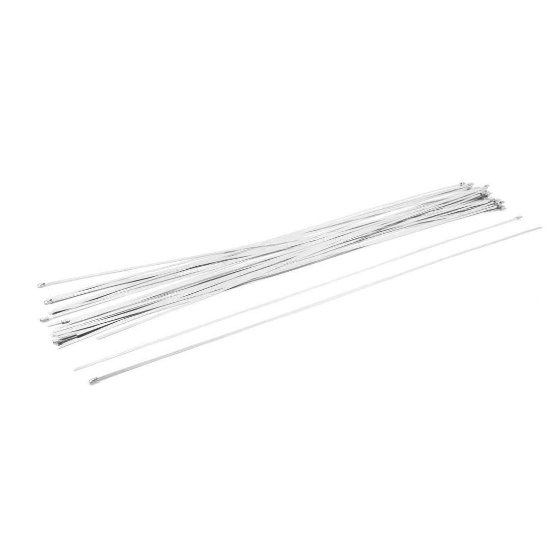 4.6mm Wide Stainless Steel Sprayed Cable Tie 1000mm 50 PCS