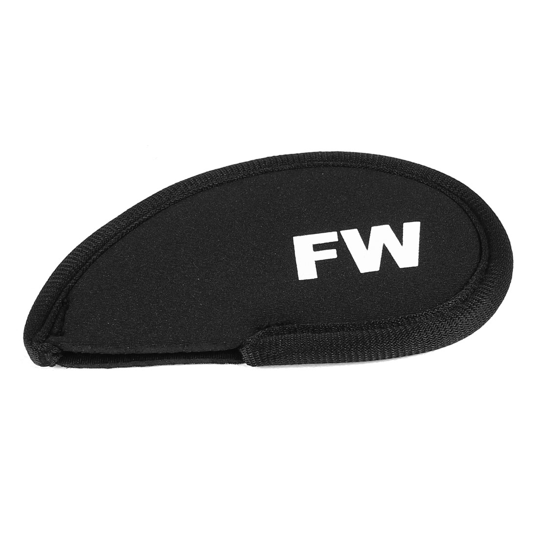 Black Neoprene Golf Club Head Cover FW Wedge Iron Protective Headcovers