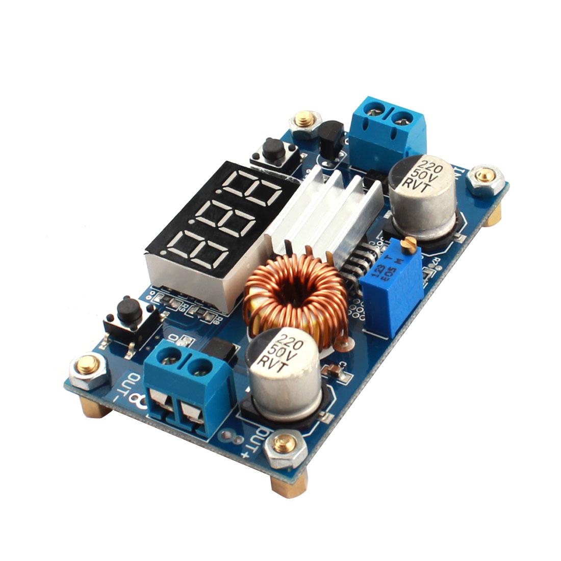 HZDZ LM2596 Micro DC Voltage Step-Down Power Supply Transformer PCB Circuit Board Module w Voltmeter