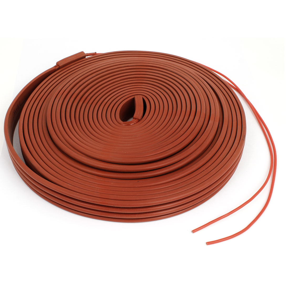 110V Red Freezing Protection Waterproof Heater Strip Pipe Heating Cable 10M x 25mm