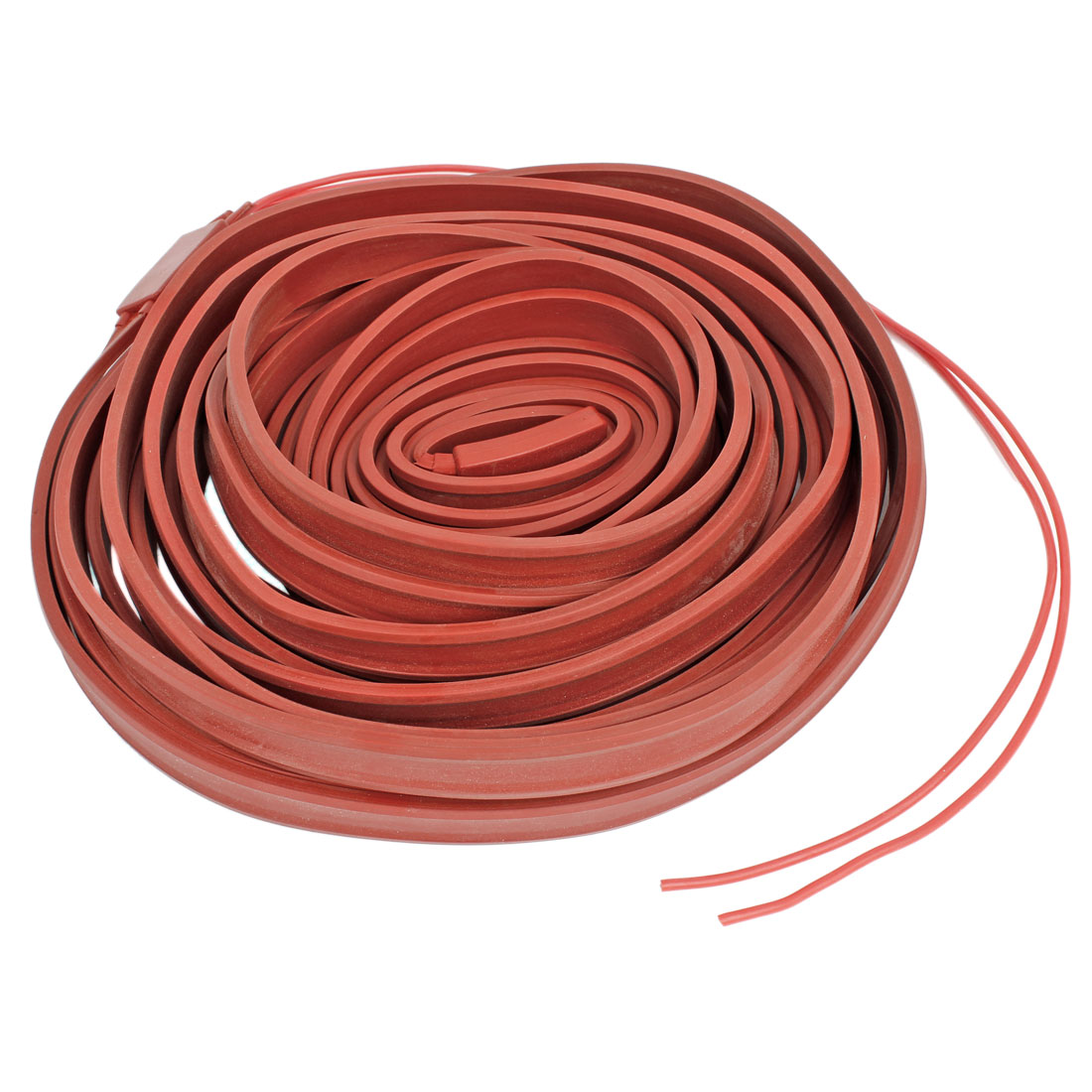 60V Red Freezing Protection Waterproof Heater Strip Pipe Heating Cable 10M x 15mm
