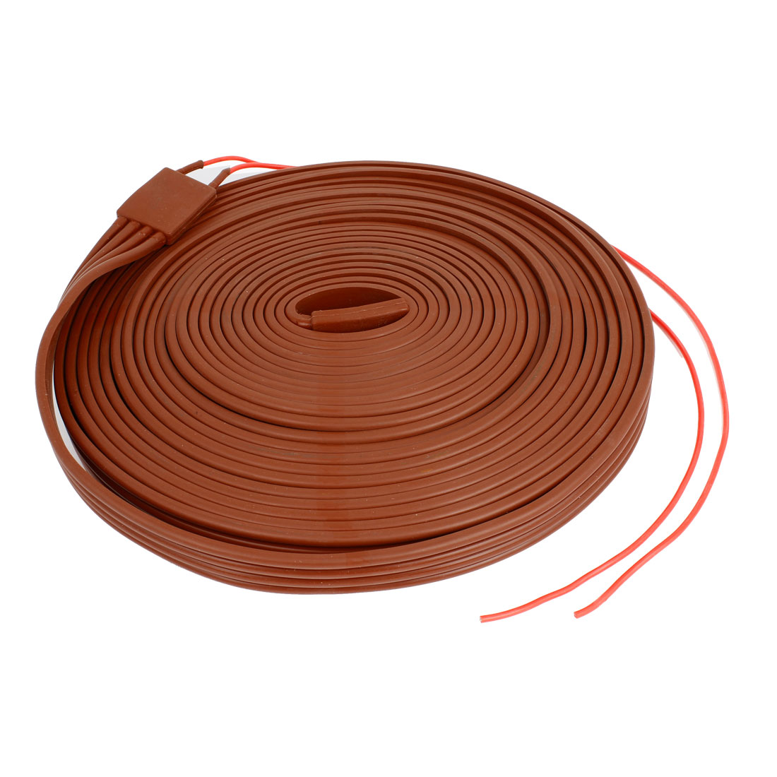 Red Silicone Waterproof Heater Strip Band 25mm Wide 10M Long 60V