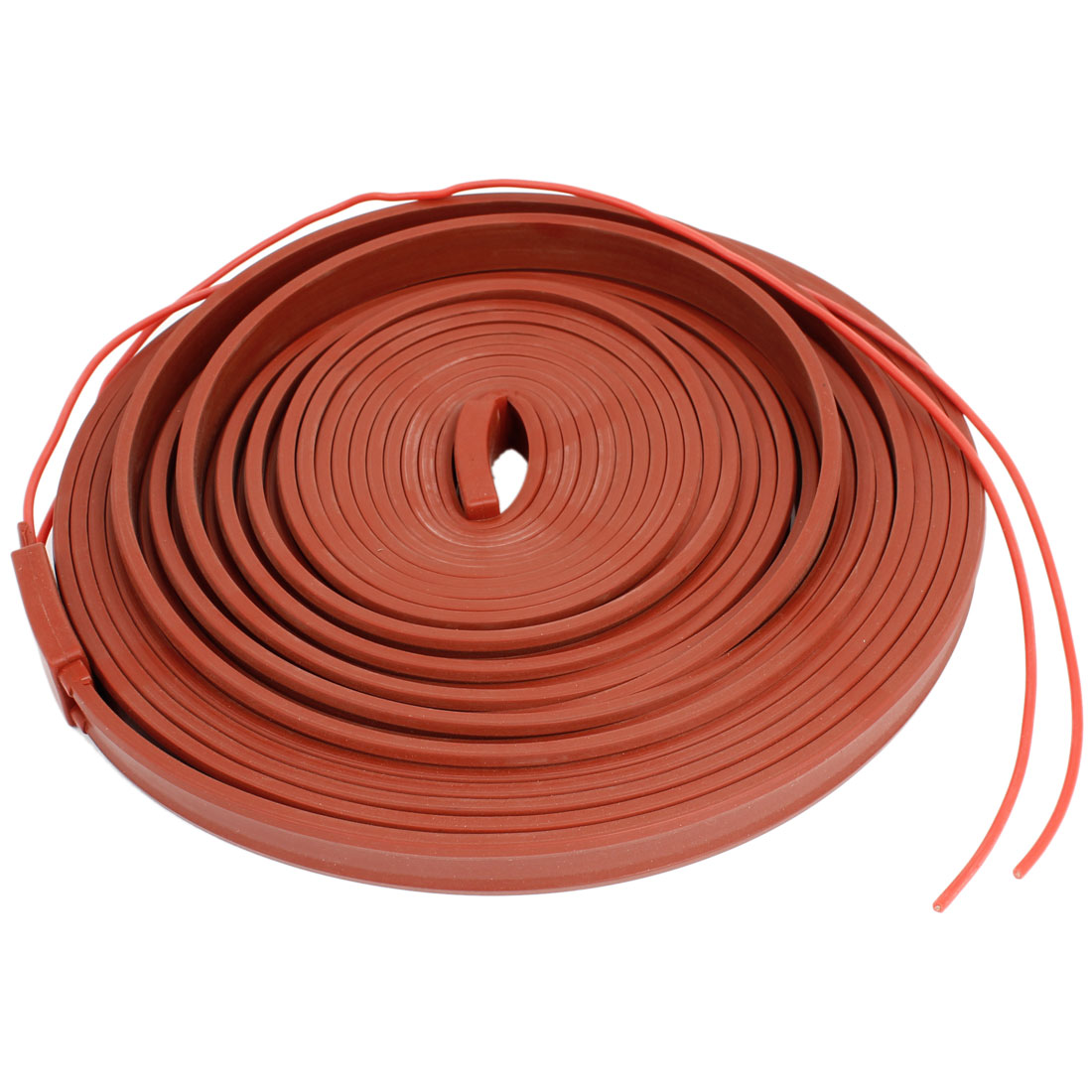 380V Red Freezing Protection Silicone Waterproof Heater Strip 10M x 15mm