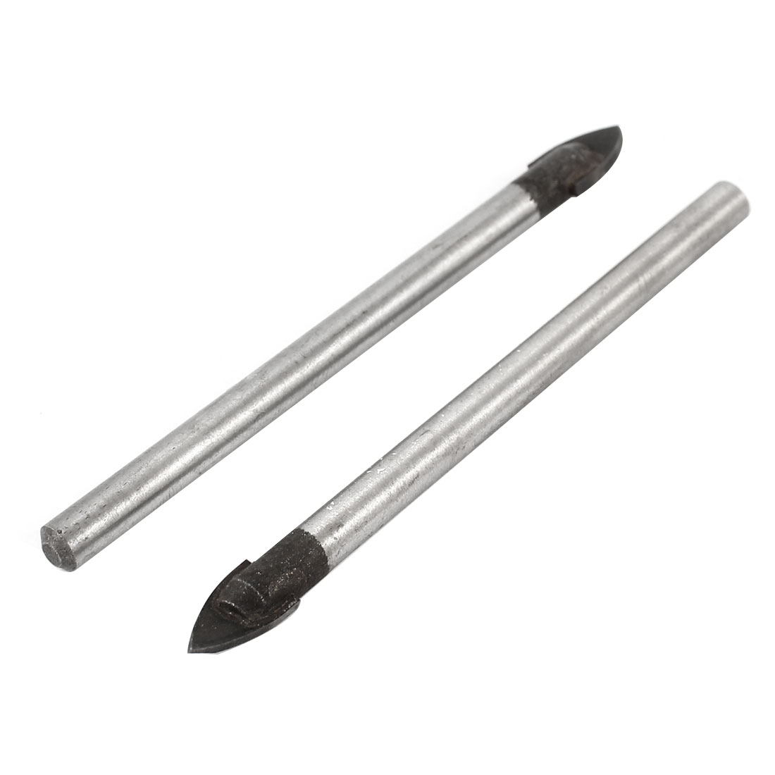 "2pcs 2.87"" Long 5mm Dia Shank Metal Tile Drill Bit for Glass"