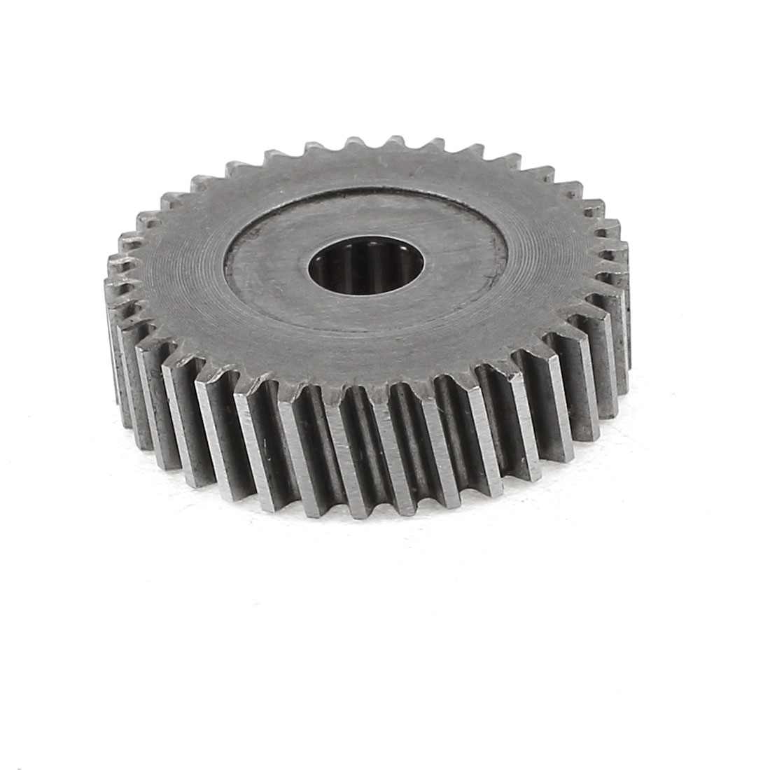 Motor Replacement 8mm Hole Dia 35 Teeth 1.5mm Pitch Metal Spur Gear