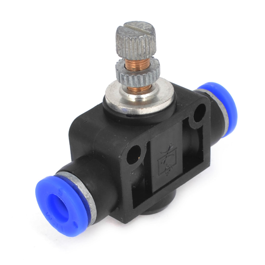 6mm to 6mm Push In Speed Controller Pneumatic Air Valve
