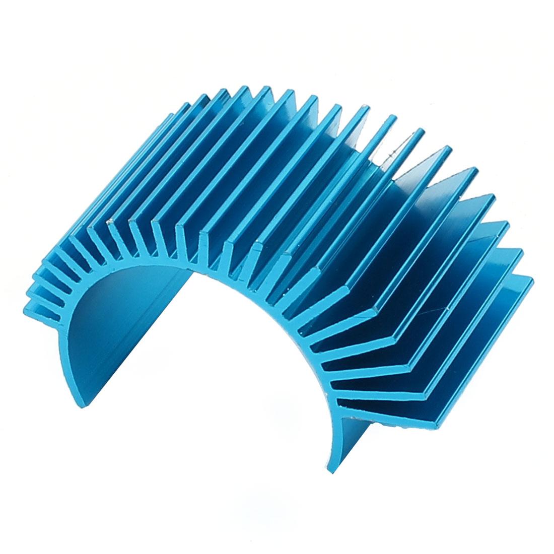 Heatsink Heat Diffuse 51mm x 28mm x 30mm Aluminum Cooling Fin Blue