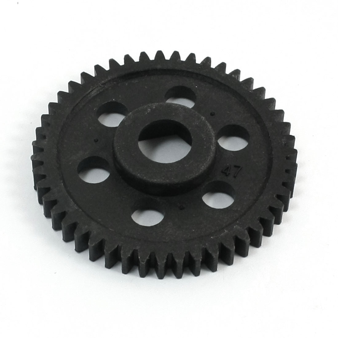 06232 47T Black Plastic Spur. Gear 49mm for 94106/94166 RC 1/10 Car