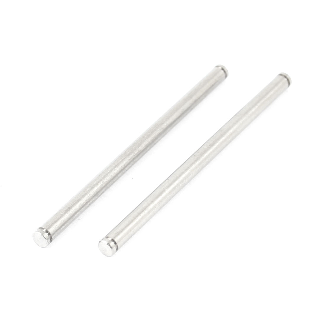 2Pcs 02063 Steel Rear Lower Arm Round Pin A 54mm for RC 1/10 Car 94123