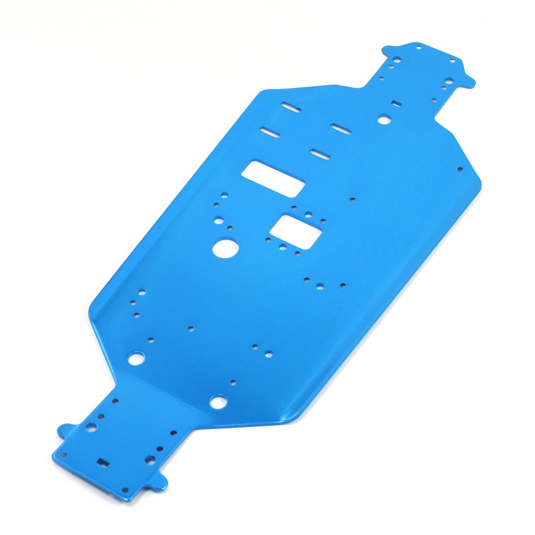 RC 1/10 Model Car Truck Buggy Replacement Blue Aluminum Chassis 06056