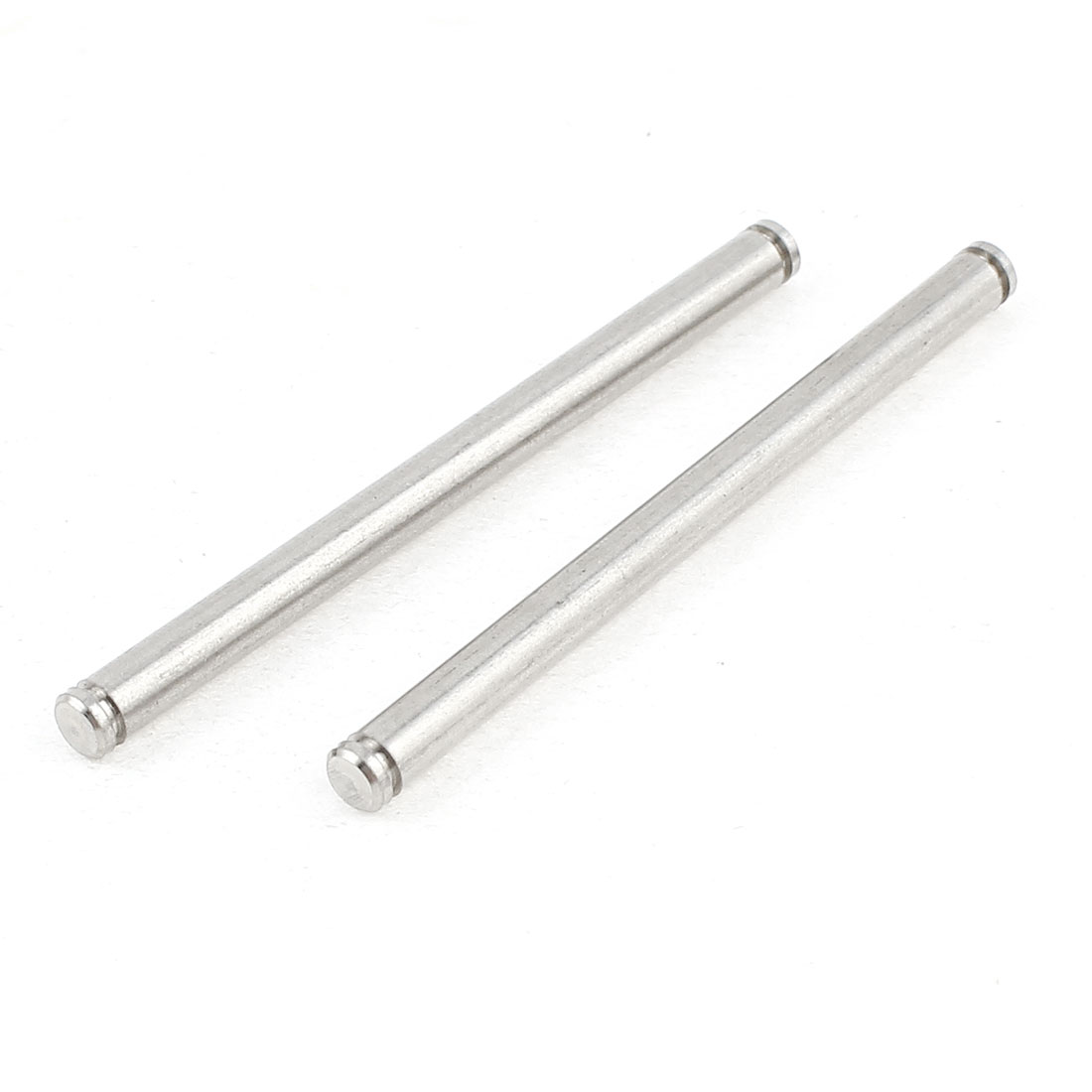 2Pcs 08069 Metal Front Lower Arm Round Pin B 43mm for 94188 RC 1/10 Car