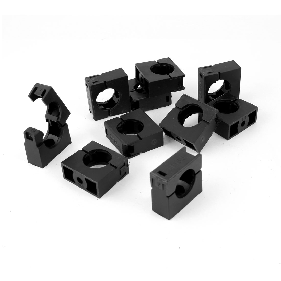 AD18.5 Flexible Pipe Conduit Plastic Mounting Stand Bracket 10 pcs